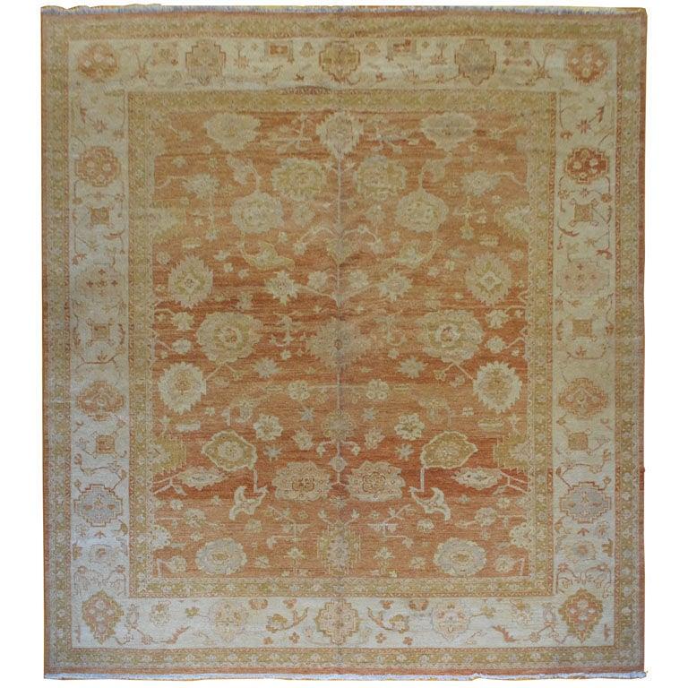 Large Agra Carpet At 1stdibs