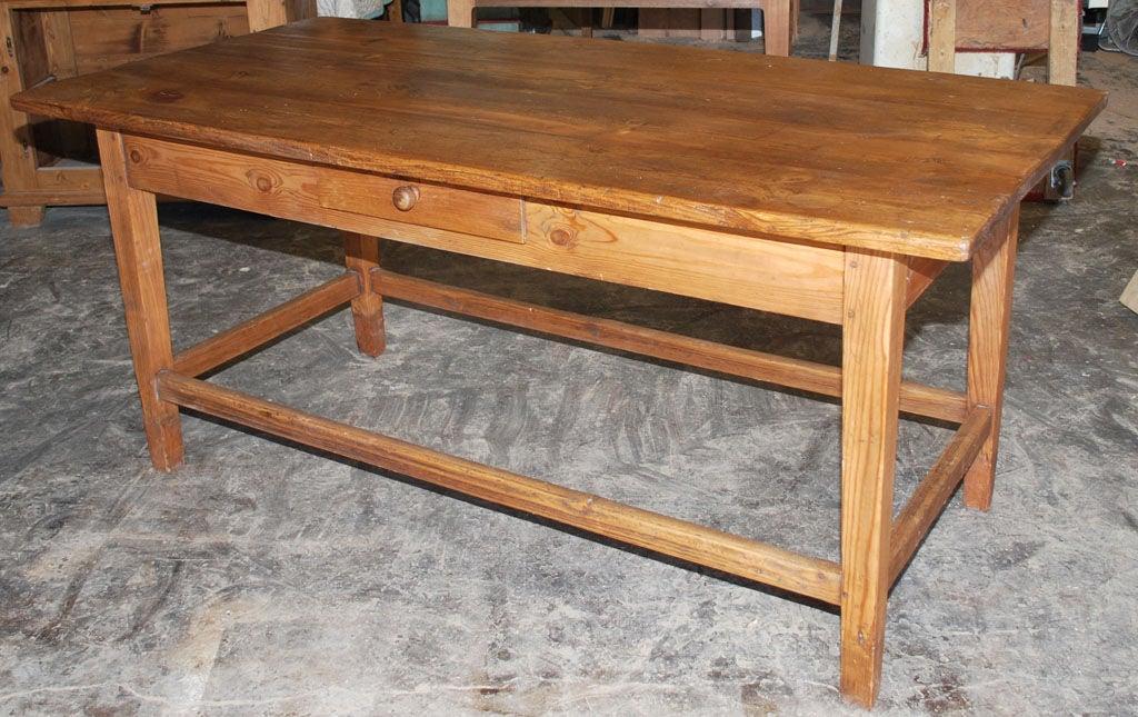 old work table for sale at 1stdibs. Black Bedroom Furniture Sets. Home Design Ideas