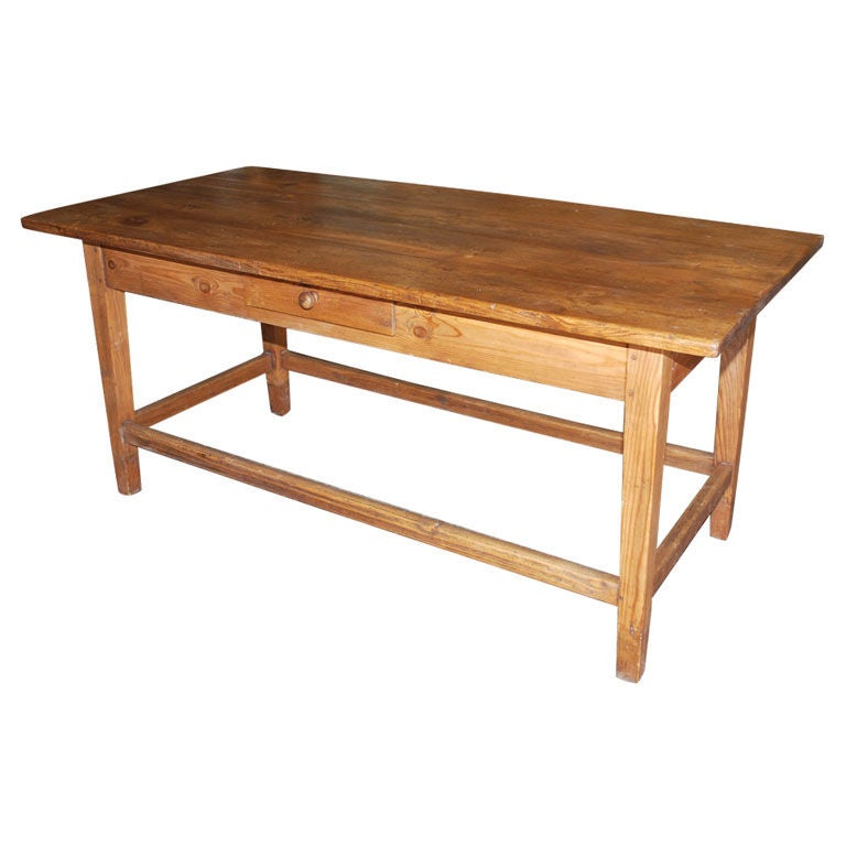 Old Work Table At 1stdibs