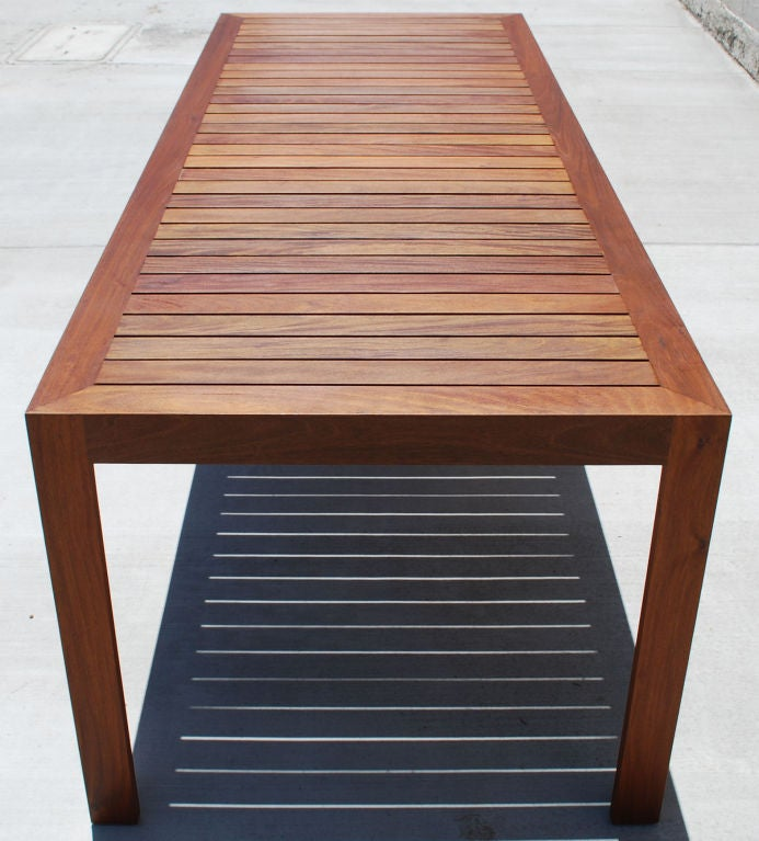 Indoor Or Outdoor Dining Table For Sale At 1stdibs