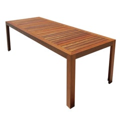 Indoor or Outdoor Dining Table, Built to Order by Petersen Antiques