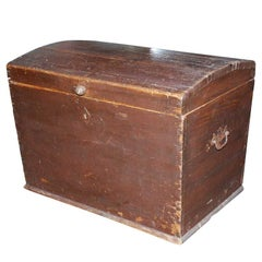 Dome Top Chest, Blanket Box