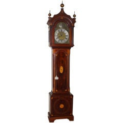 Georgian Mahogany Tall Case Clock