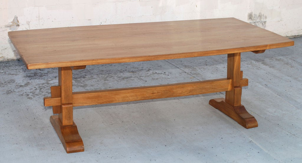 Superieur This Custom Dining Table Is Made From Vintage 1.5u0026quot; Thick Weathered  Walnut. The Planks