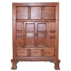 Antique Cabinet in Elm