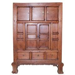 Antique Cabinet in Elm