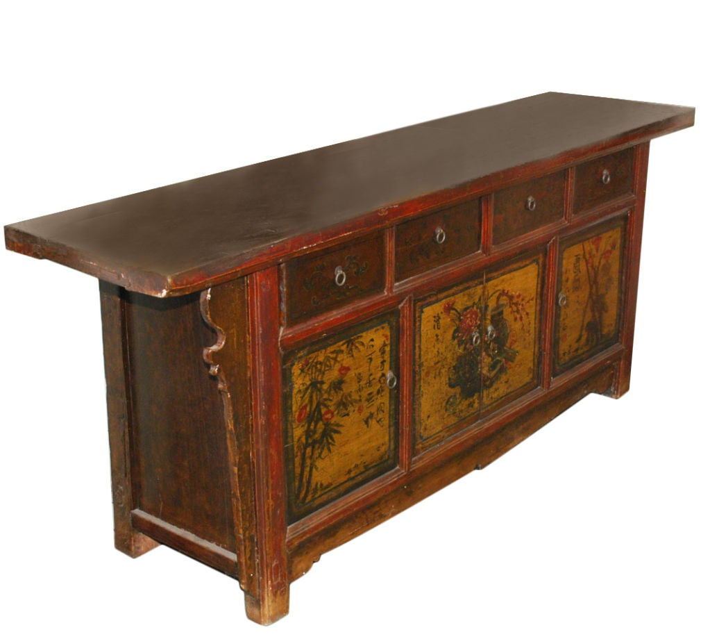 Antique Chinese Sideboard For Sale at 1stdibs