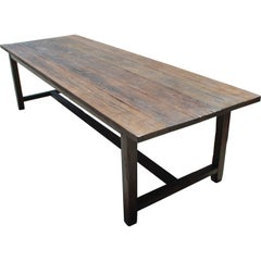 Farm Table in reclaimed fir Custom Made by Petersen Antiques