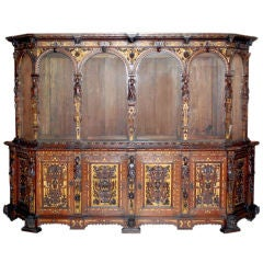 Renaissance Style Cabinet Dated, 1566