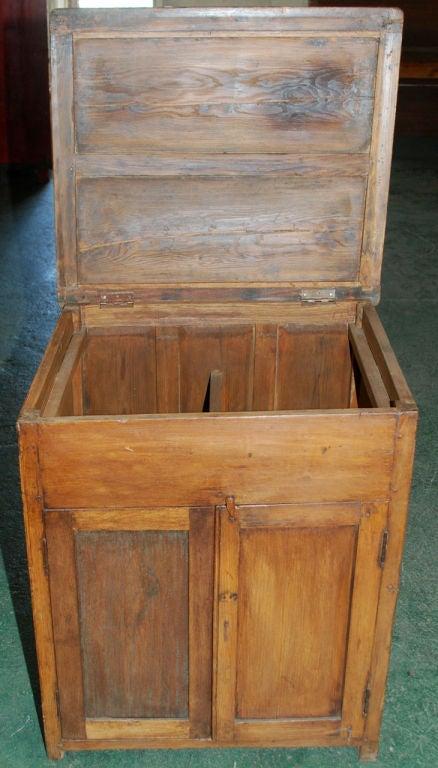 British Colonial Teak Nightstand For Sale 1
