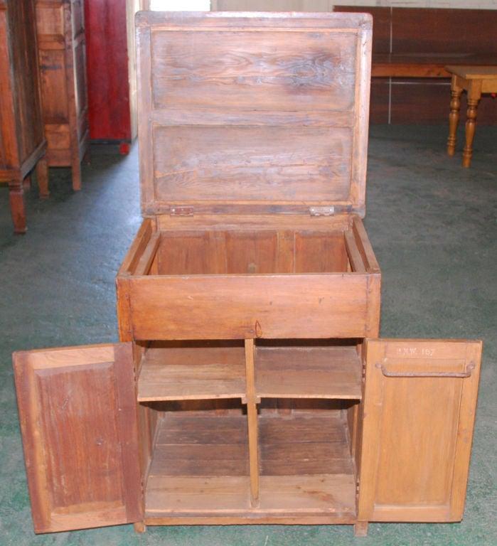 British Colonial Teak Nightstand For Sale 3
