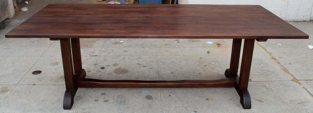 Dining Table in Vintage Walnut For Sale at 1stdibs : 806513352381892 from www.1stdibs.com size 1024 x 372 jpeg 73kB