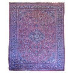 Antique Persian, Kazvin Large Rug