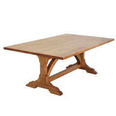 Country Dining Table, Custom Made by Petersen Antiques