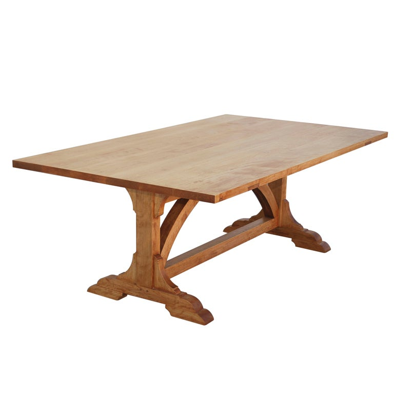 Country Dining Table, Custom Made by Petersen Antiques  For Sale