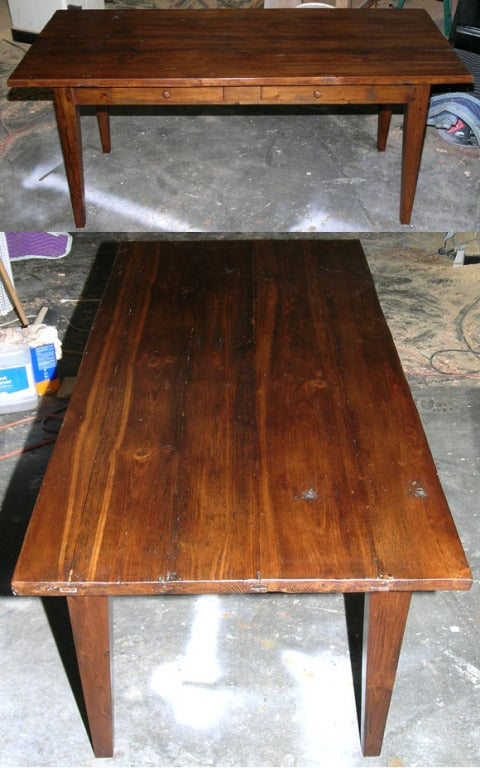 Harvest Table Made From Reclaimed Wood For Sale At 1stdibs