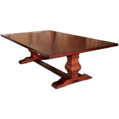 Dining Table in Cherrywood, Custom Made by Petersen Antiques