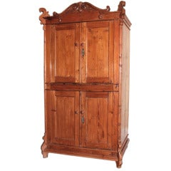 Small Hutch with Four Doors