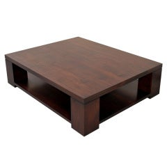 Coffee Table Made From Vintage Walnut, Built to Order by Petersen Antiques
