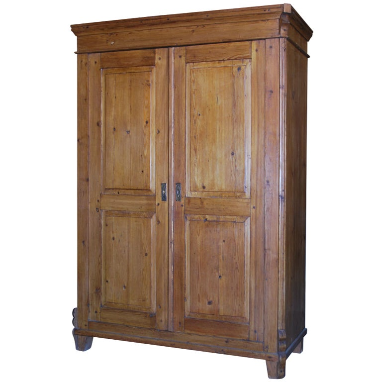 antique armoire with raised panels for sale at 1stdibs. Black Bedroom Furniture Sets. Home Design Ideas