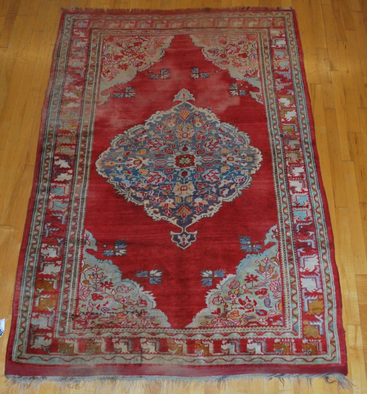Antique Russian Rug For Sale 1
