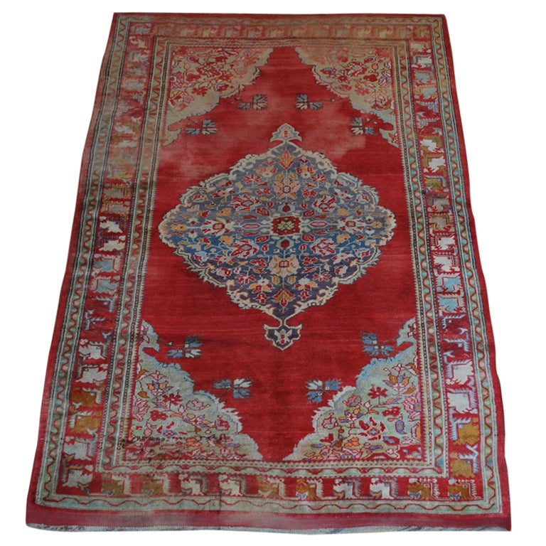Antique Russian Rug For Sale