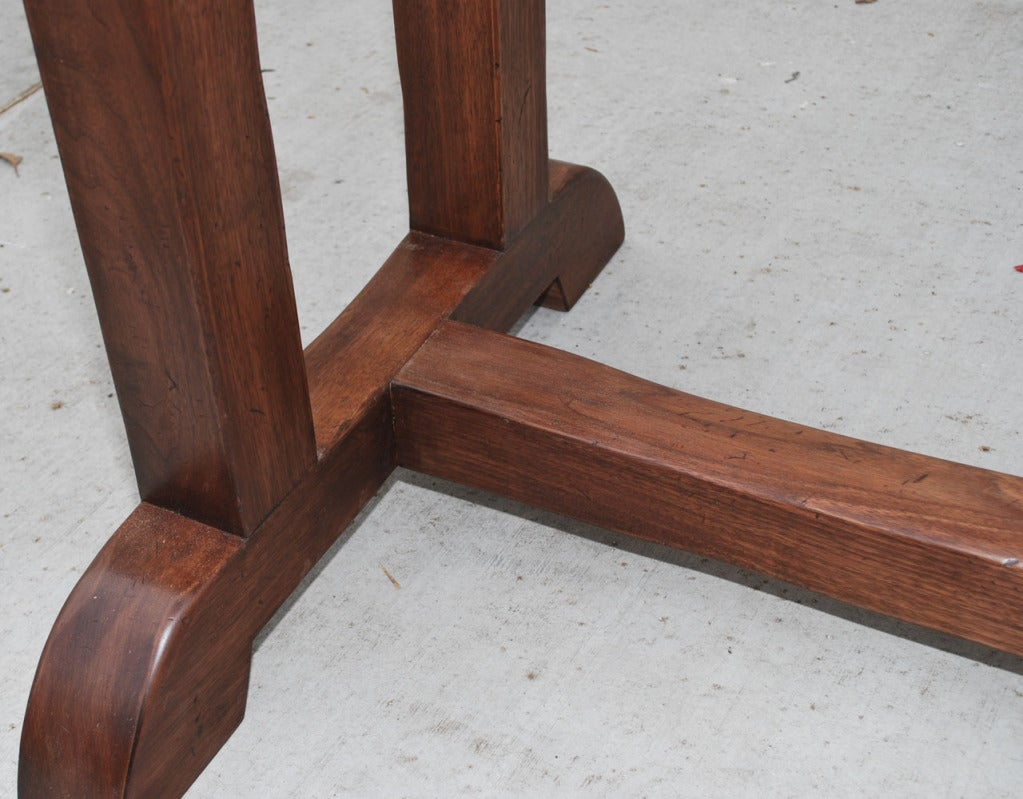 Dining Table Made from Vintage Black Walnut, Built to Order by Petersen Antiques For Sale 2