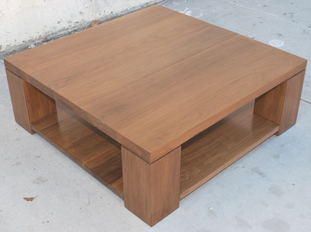 Vintage Black Walnut Coffee Table At 1stdibs