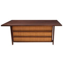 Craftsman Desk in the Style of George Nakashima