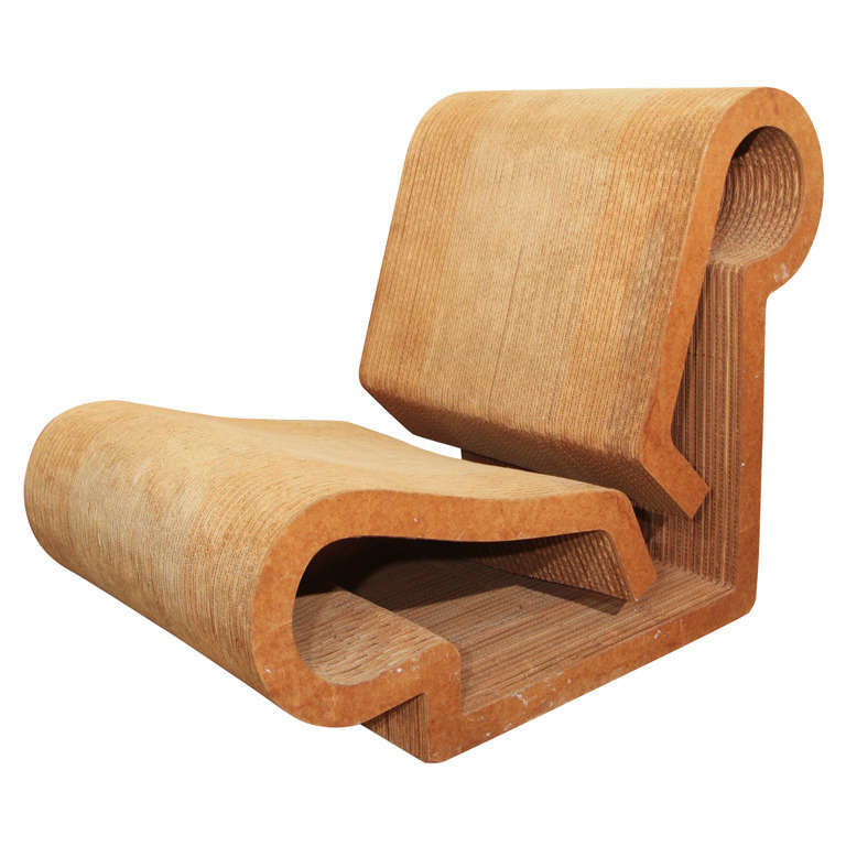 quot contour quot chair by frank gehry for sale at 1stdibs