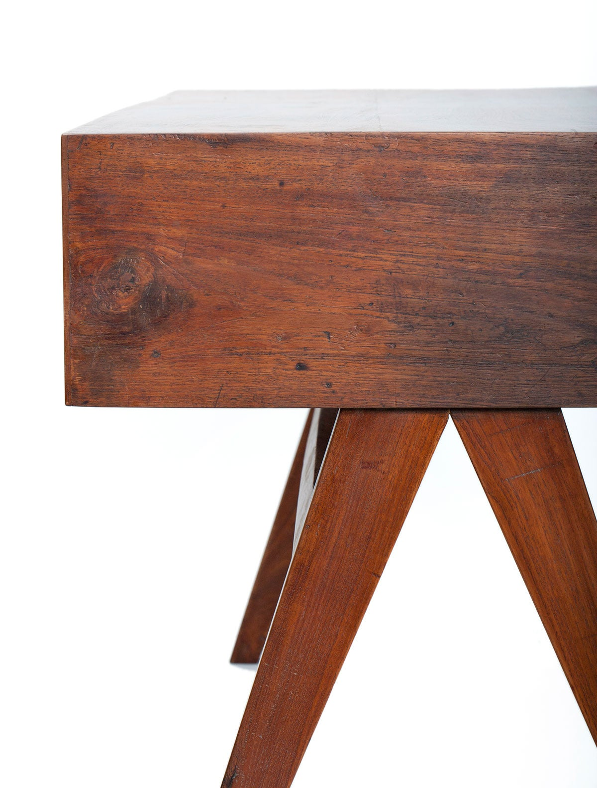 Pierre Jeanneret Desk In Excellent Condition For Sale In New York, NY
