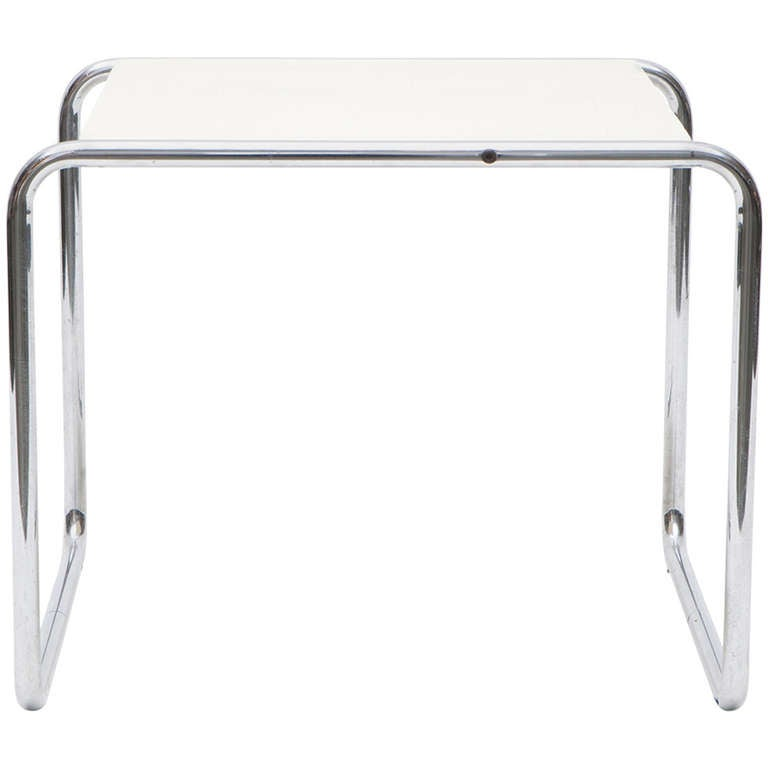 marcel breuer side table for sale at 1stdibs. Black Bedroom Furniture Sets. Home Design Ideas