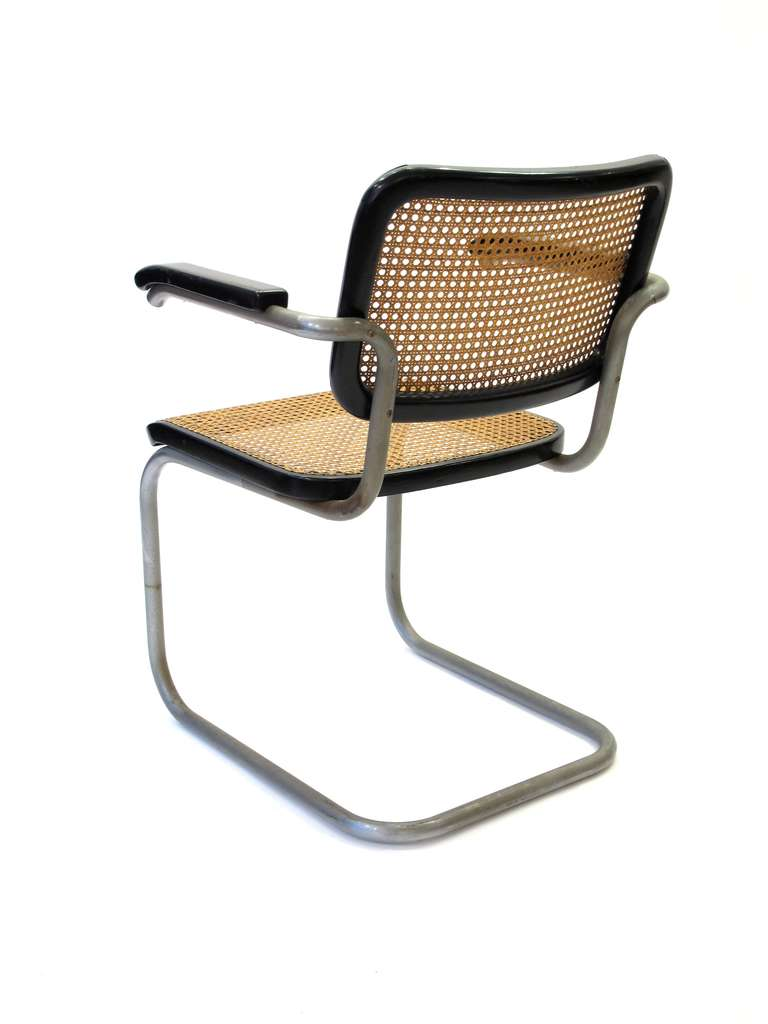Marcel Breuer Cesca Chairs At 1stdibs