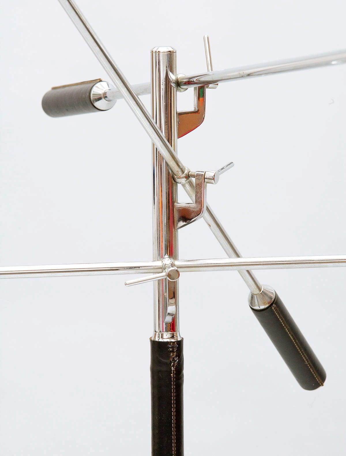 arredoluce three arm floor lamp at 1stdibs