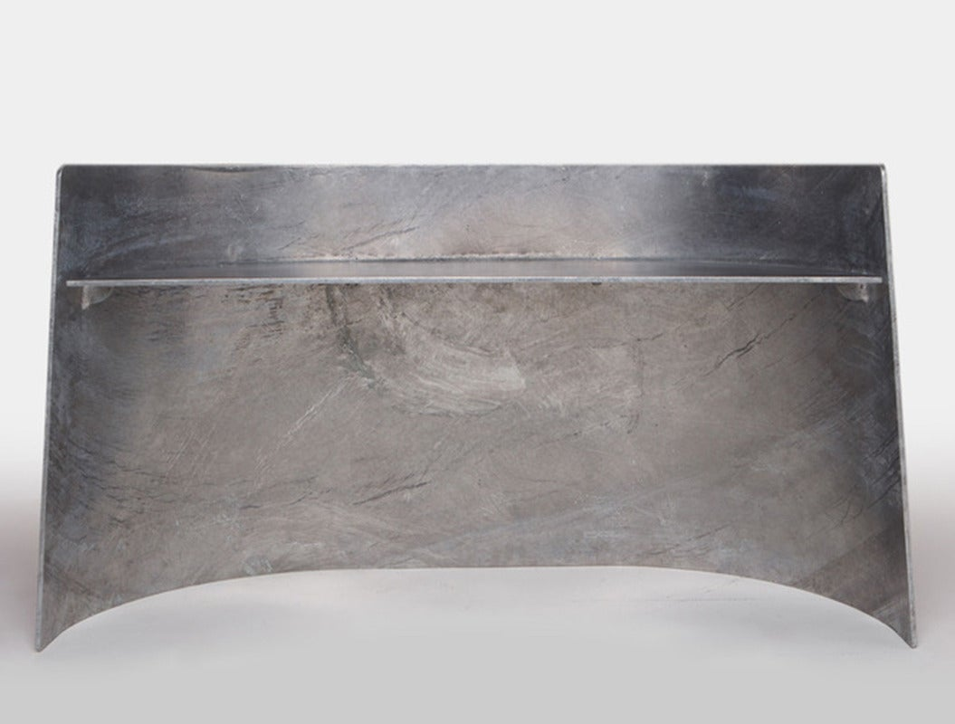 Contemporary Jonathan Nesci Steel Bench For Sale