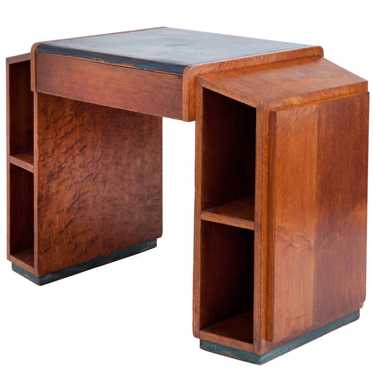 Art Deco Desk Wood Slice Coffee Table Vintage Fruit Crate Hawaiian Koa . Full resolution  picture, nominally Width 1280 Height 1280 pixels, picture with #AC4F1F.