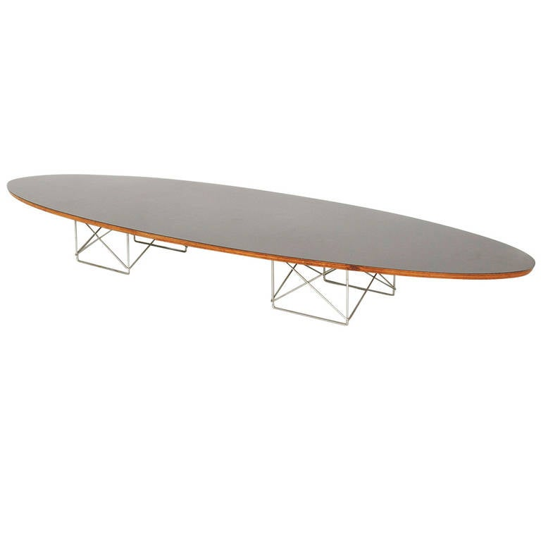 Eames surfboard table at 1stdibs for Eames style coffee table