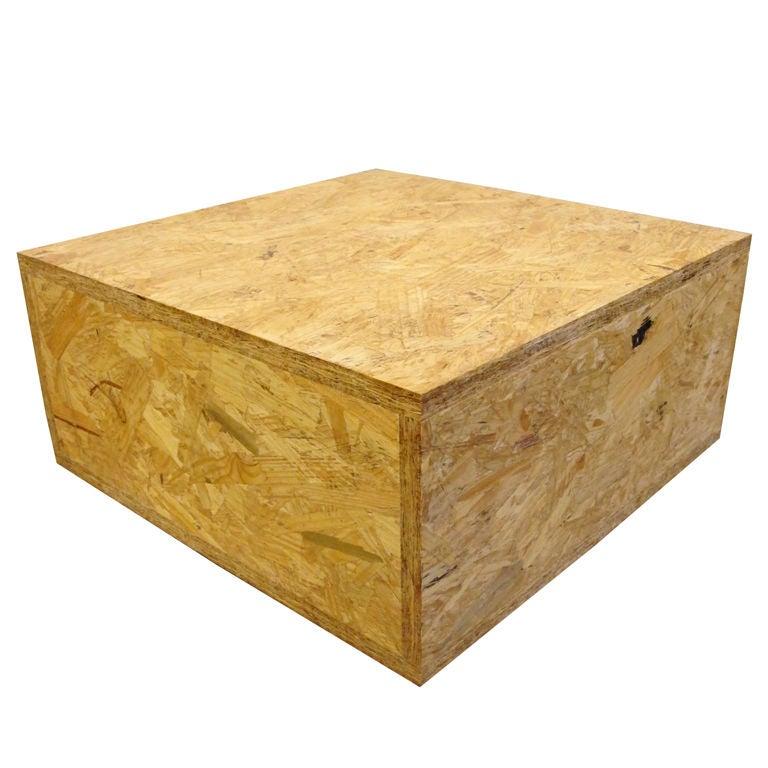 cube table osb at 1stdibs. Black Bedroom Furniture Sets. Home Design Ideas