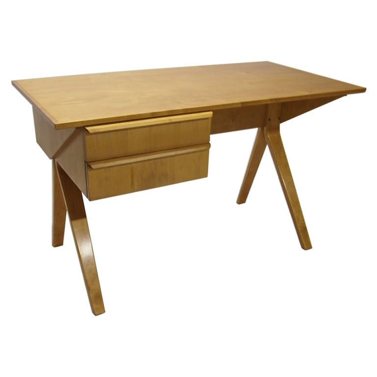 Desk by Cees Braakman for Pastoe Holland Model EB02 1950 Netherlands at 1stdibs