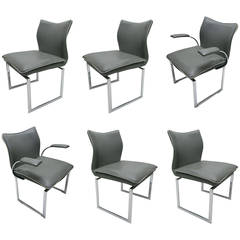 Set of Six Dining Chairs by Pieff and Co., circa 1970
