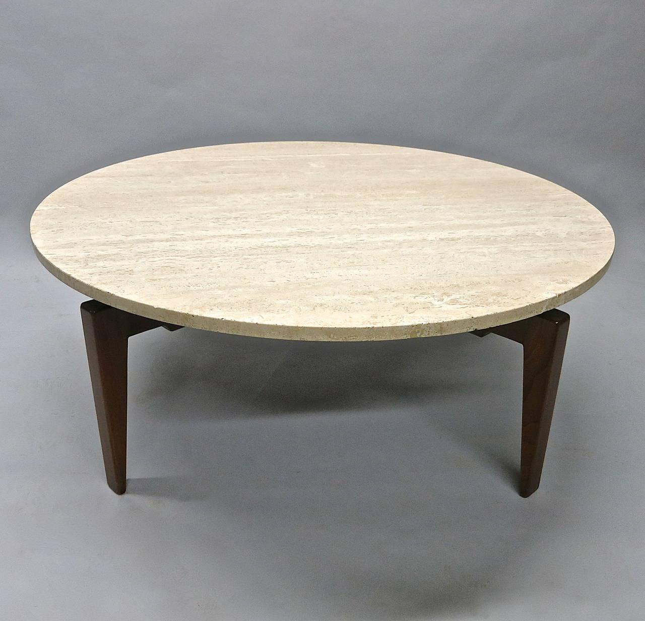 Https Www 1stdibs Com Furniture Tables Coffee Tables Cocktail Tables Rotating Coffee Table Labeled Jens Risom Design Inc Circa 1950 American Id F 1175214