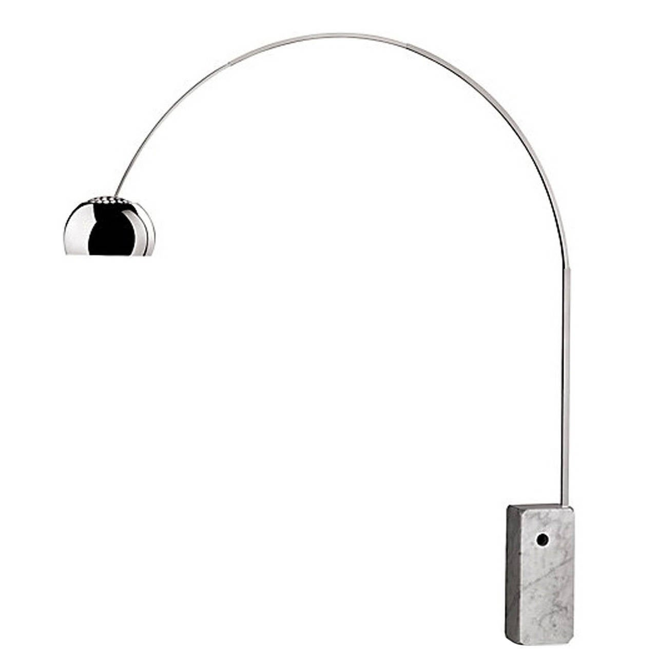 Arco Floor Lamp by Castiglioni for Flos Italy at 1stdibs