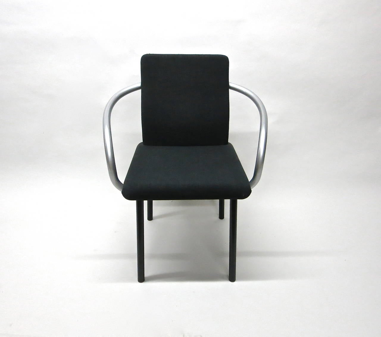 Modern Set of Six Mandarin Chairs Designed 1986 Ettore Sottsass for Knoll International For Sale