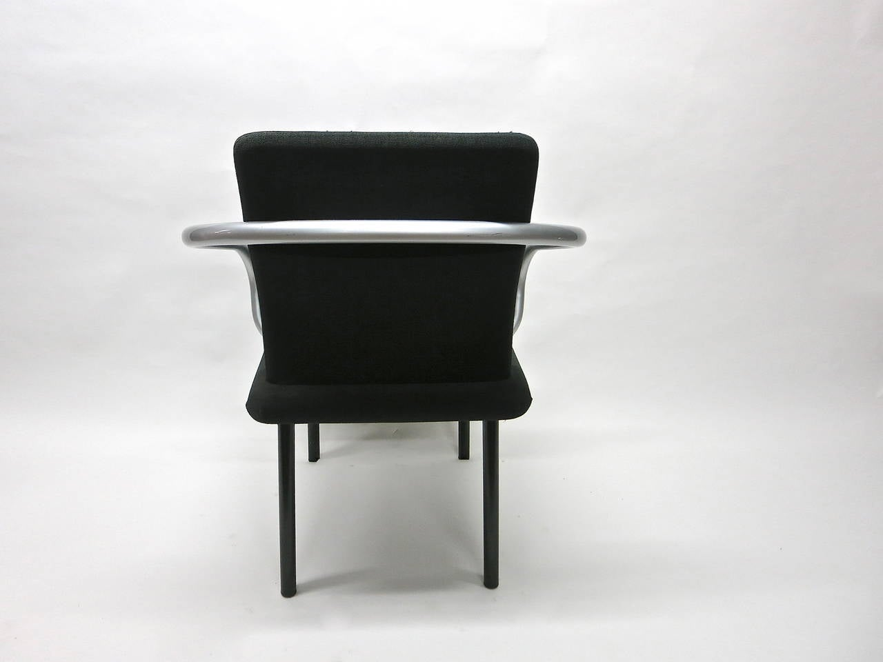 Set of Six Mandarin Chairs Designed 1986 Ettore Sottsass for Knoll International For Sale 1