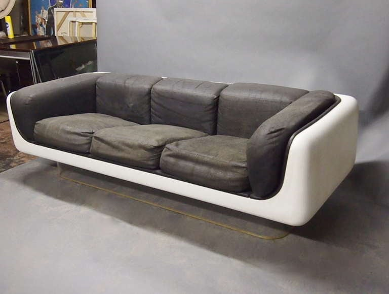 Sofa Chair and Coffee Table by Warren Platner for Steelcase Original C.  1960 USA