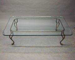 Large Coffee Table in the Stye of Maison Ramsay, circa 1950 Made in France