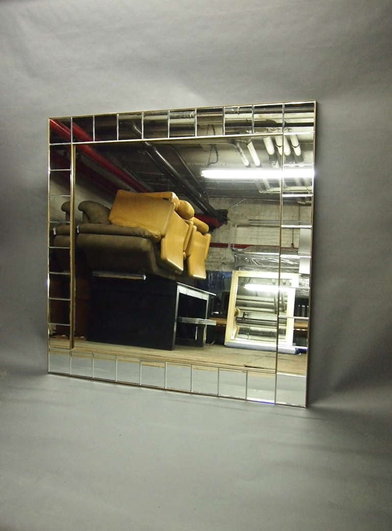 5 foot square mirror circa 1930 american at 1stdibs for 6 foot floor mirror