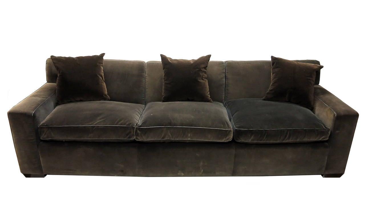 Custom Made Sofa in Brown Velvet at 1stdibs : IMG0179editedl from www.1stdibs.com size 1280 x 705 jpeg 50kB