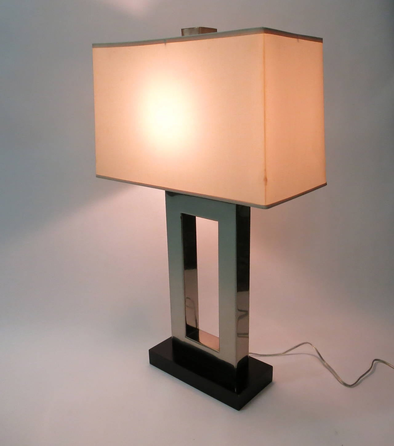 this pair of table lamps made in usa circa 1970 is no longer. Black Bedroom Furniture Sets. Home Design Ideas