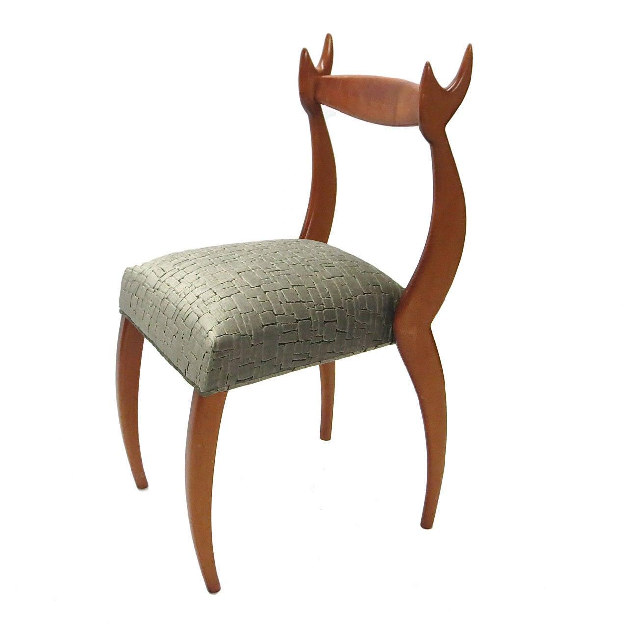 Single 'My Dear Chair' by Sergio Savarese for Dialogica, SoHo, NY, circa 1988